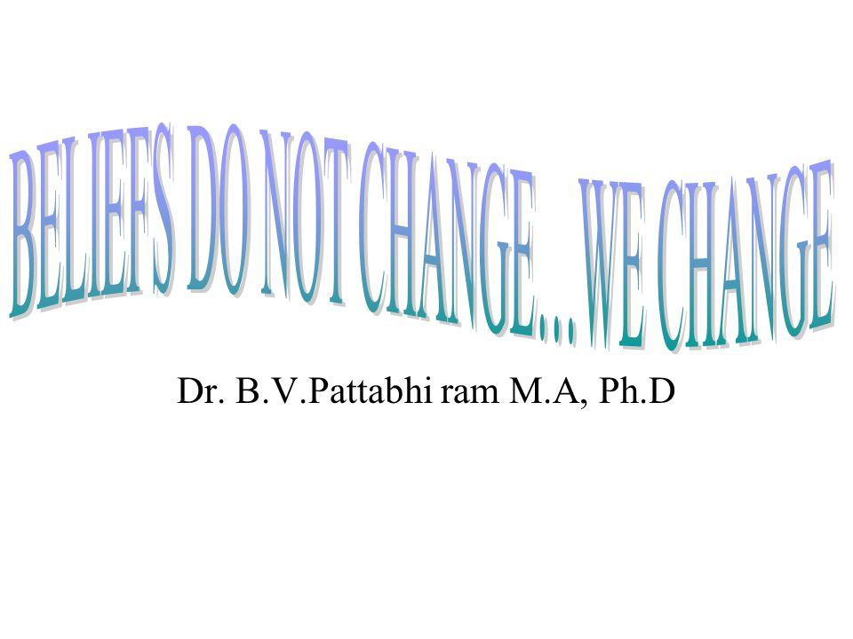 Dr. B.V.Pattabhi ram M.A, Ph.D