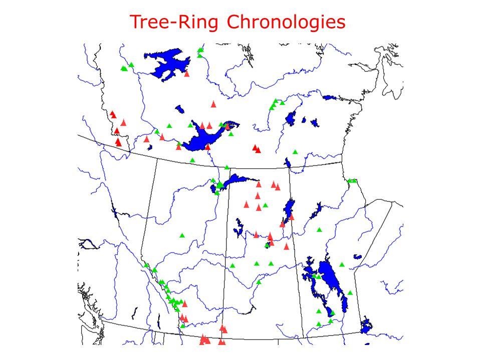 Tree-Ring Chronologies