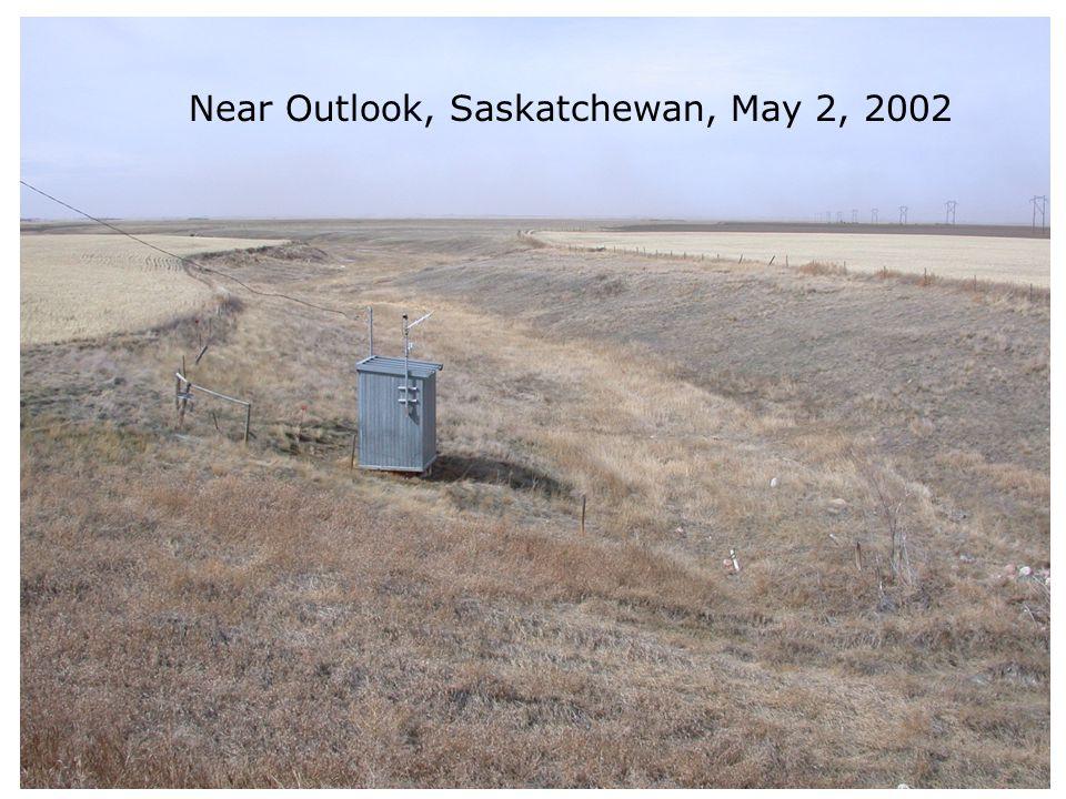 Near Outlook, Saskatchewan, May 2, 2002