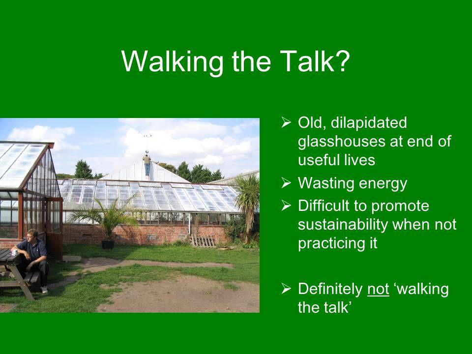 Walking the Talk.
