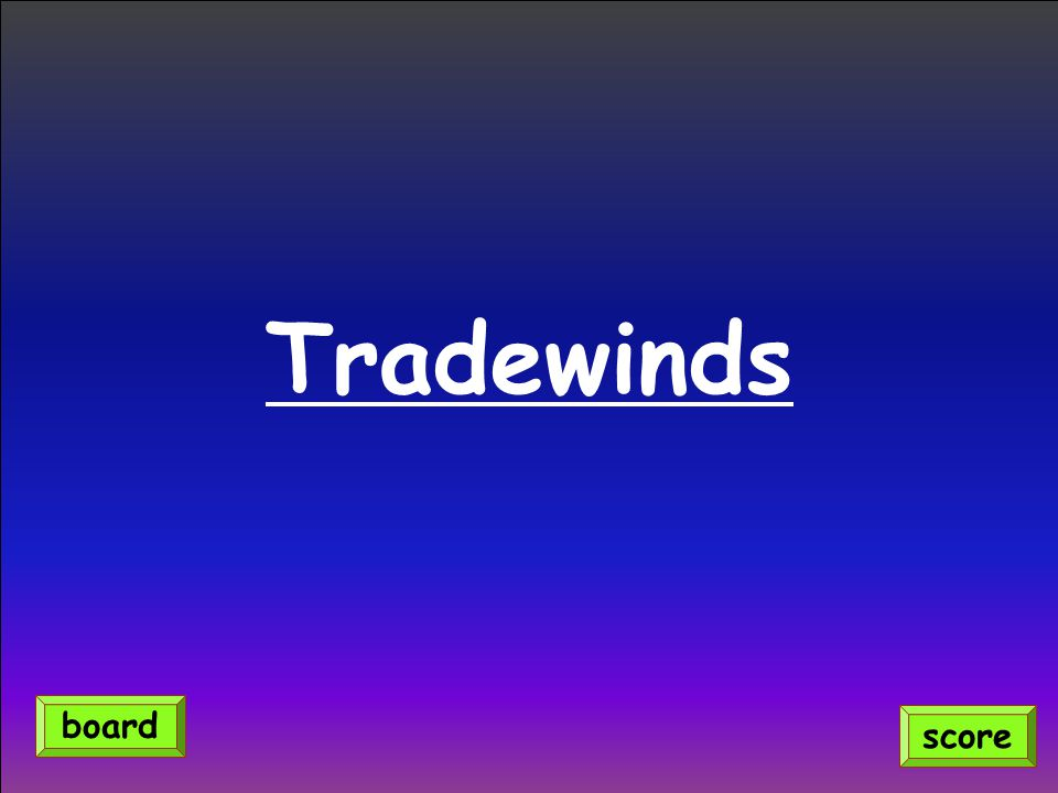Tradewinds score board