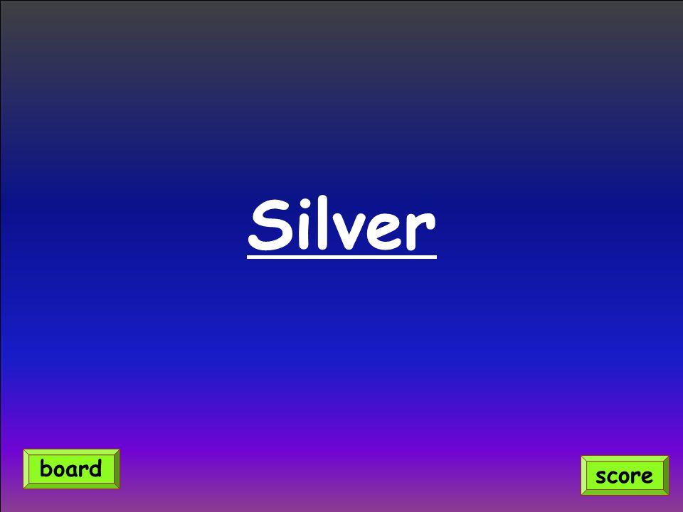 Silver score board