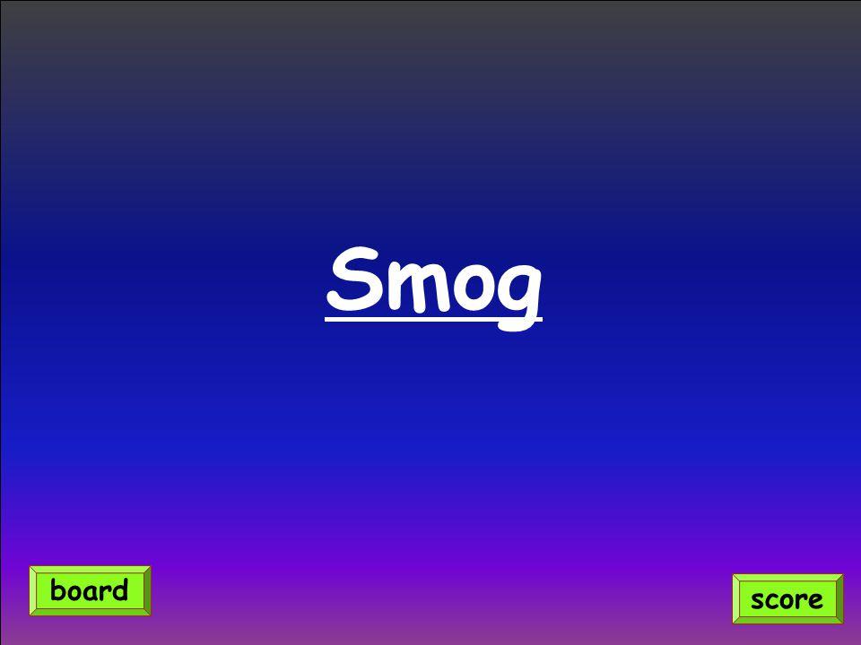 Smog score board
