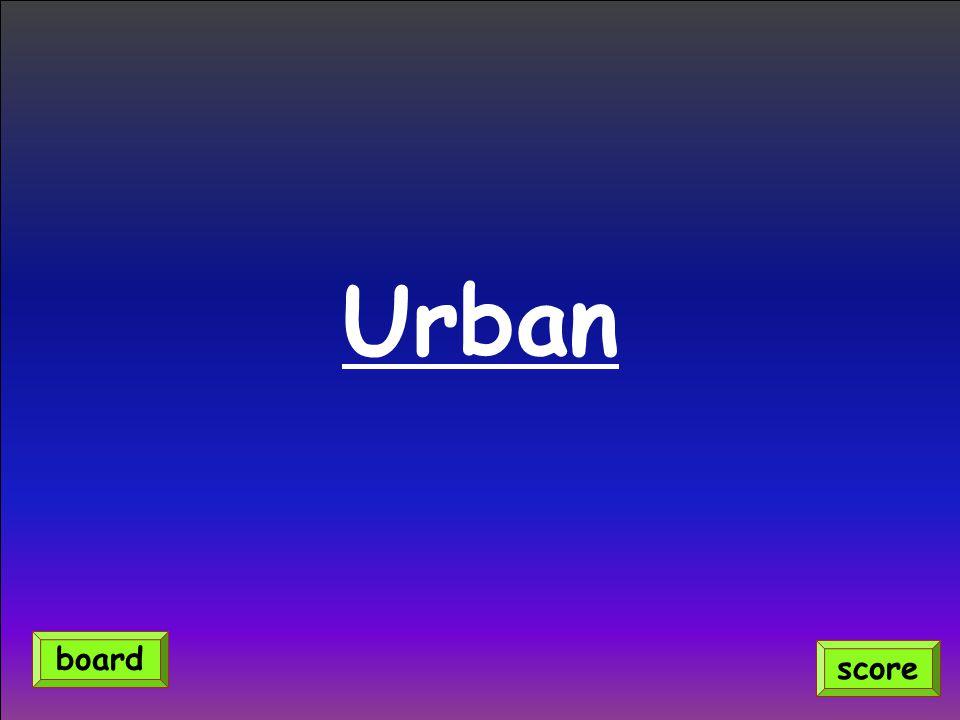 Urban score board