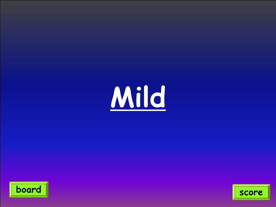 Mild score board