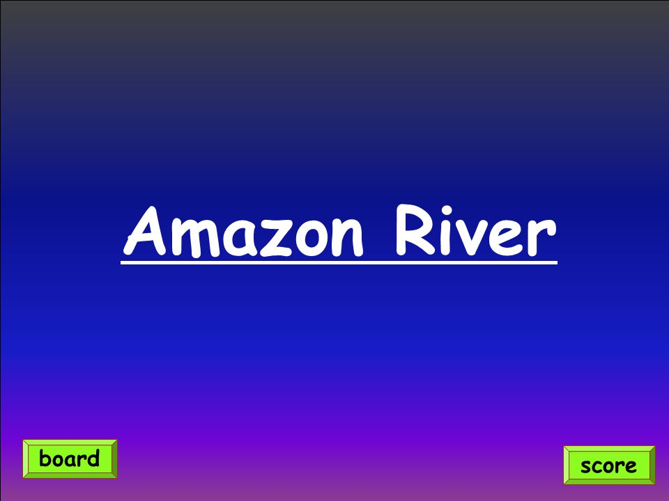 Amazon River score board
