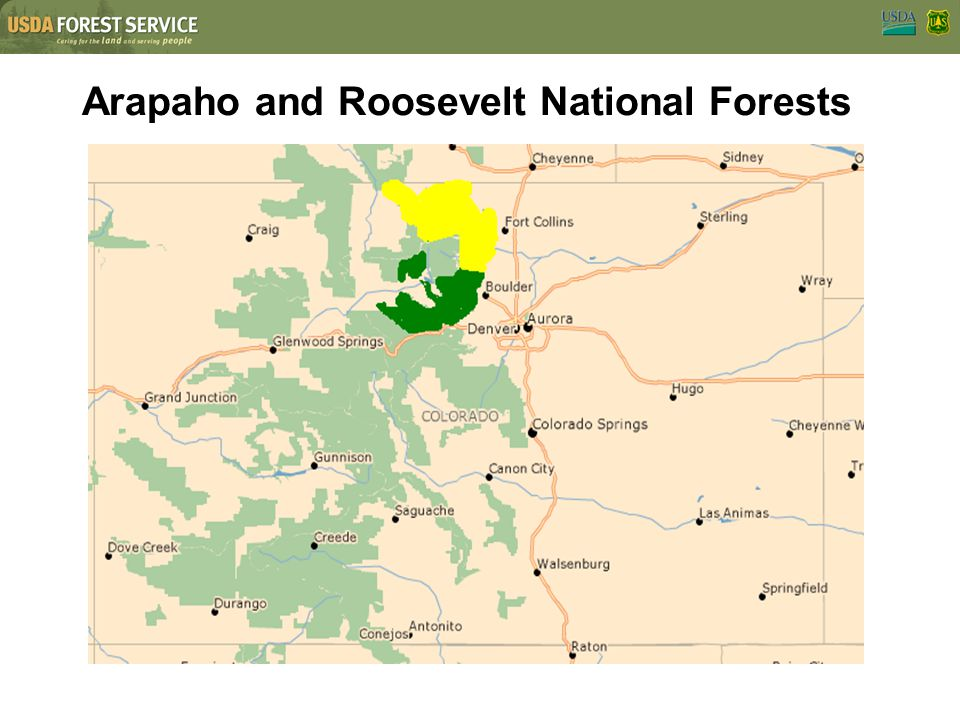 Arapaho and Roosevelt National Forests
