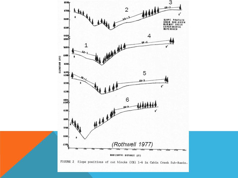 2 3 1 4 5 6 (Rothwell 1977)