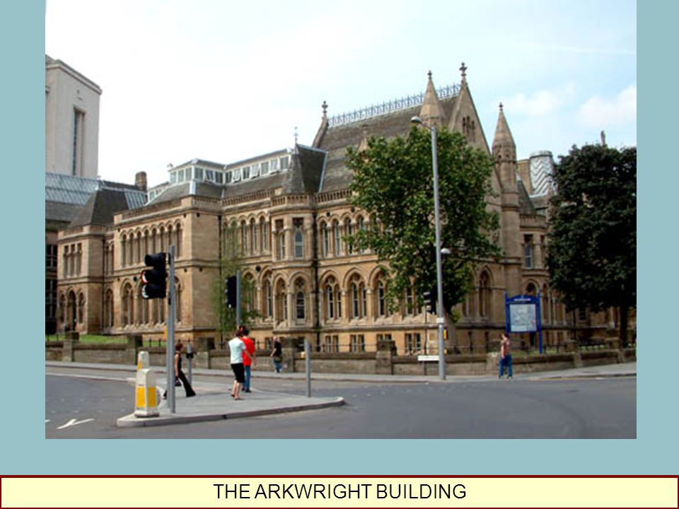 THE ARKWRIGHT BUILDING