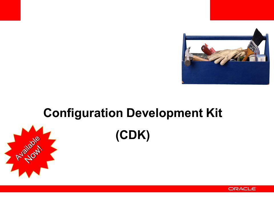 Configuration Development Kit (CDK) Available Now!