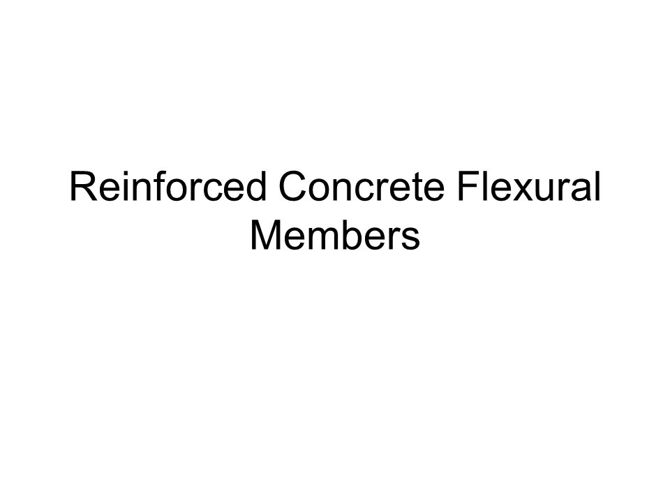 Balanced Reinforcement Ratio, ρ b To insure that steel tension reinforcement reaches a strain ε s ≥ f y /E s before concrete reaches ε = 0.003 (steel yields before concrete crushes) the reinforcement ratio must be less than ρ b.
