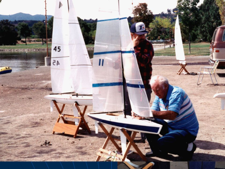 J.D. also became a champion builder and racer of radio- controlled model yachts, a sport he enjoyed for many years.
