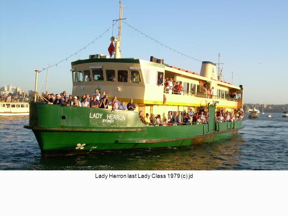 Lady Herron last Lady Class 1979 (c) jd