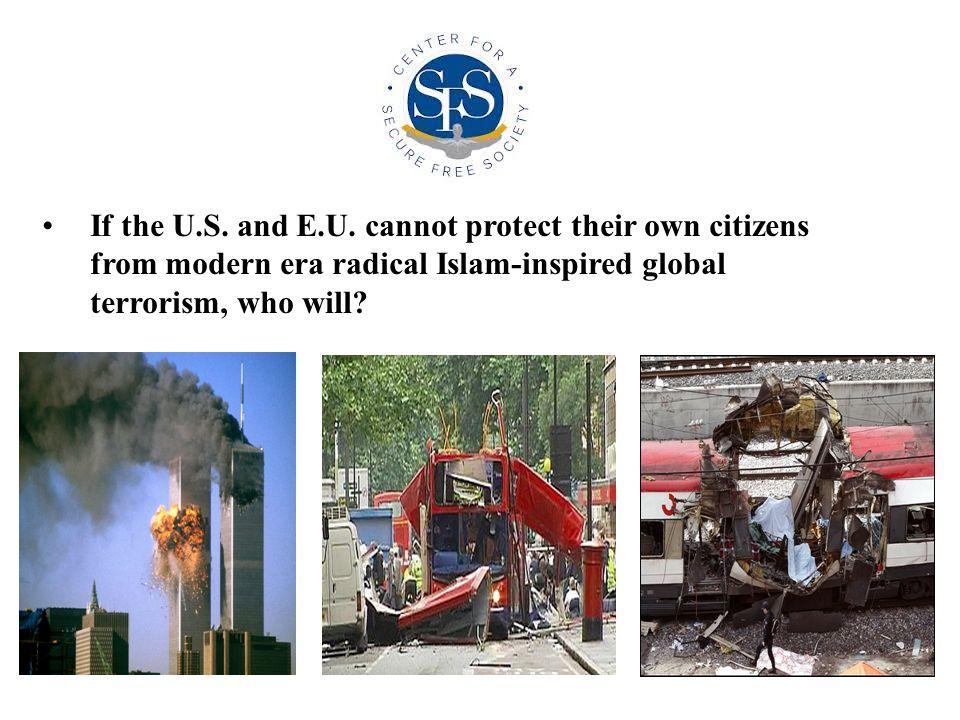 If the U.S. and E.U.