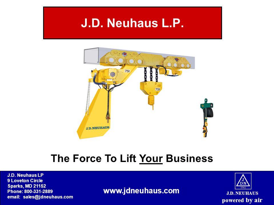 J.D. NEUHAUS powered by air J.D. Neuhaus L.P.