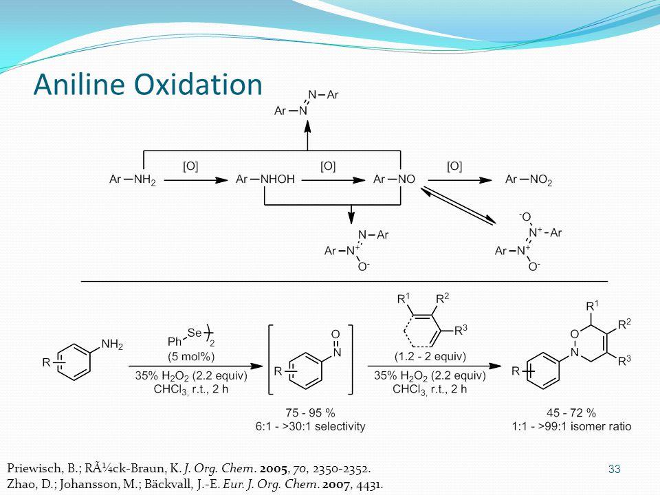 33 Aniline Oxidation Priewisch, B.; Rück-Braun, K.
