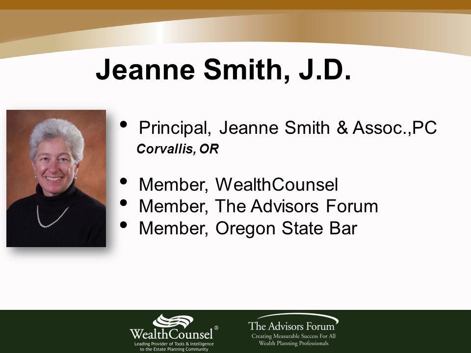 Jeanne Smith, J.D.