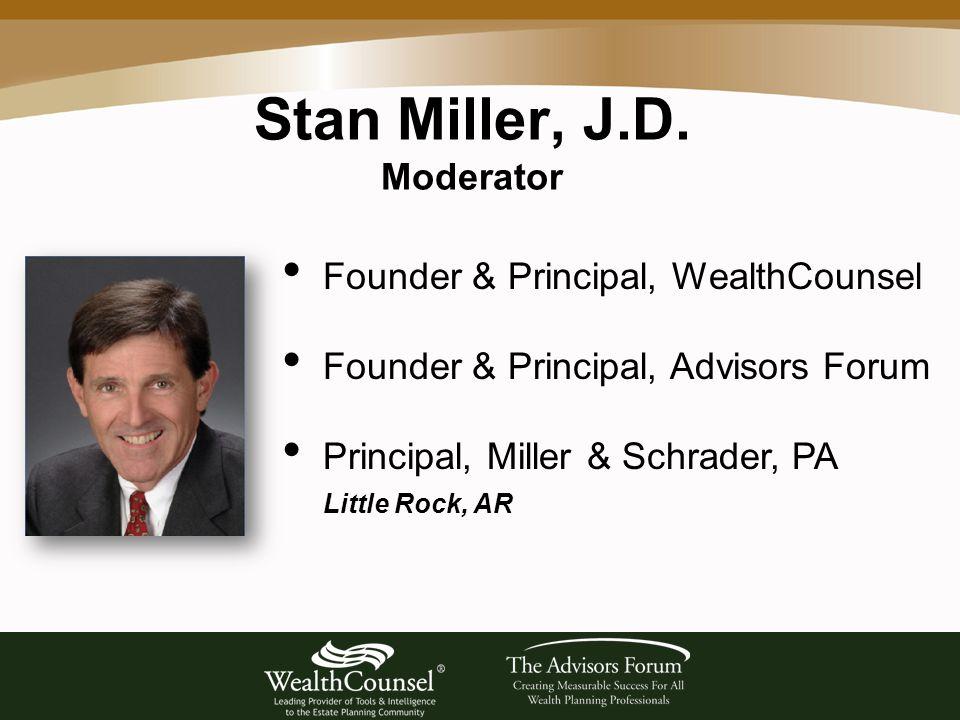 Stan Miller, J.D.