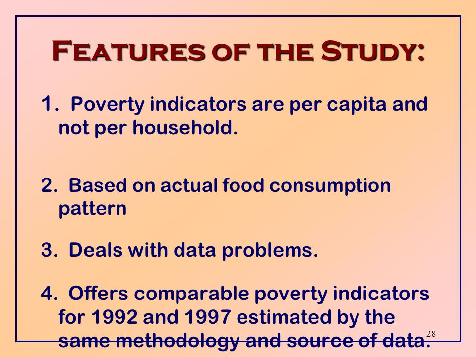 27 Conclusions  The number of Jordanians living in poverty has gone up.
