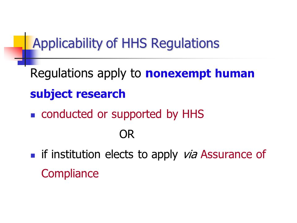 Possible Determinations/Outcomes Possible Determinations/Outcomes In compliance no recommendations recommend improvements Noncompliance need corrective actions FWA restricted or withdrawn, pending corrective actions recommend additional actions by HHS recommend debarment - 45 CFR part 76
