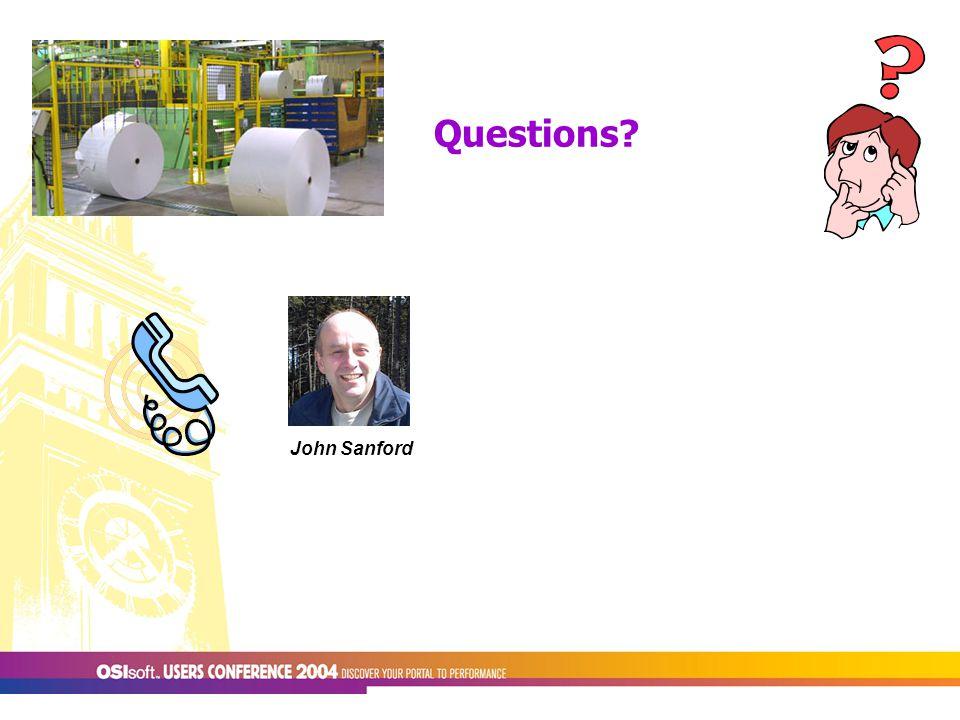 Questions John Sanford
