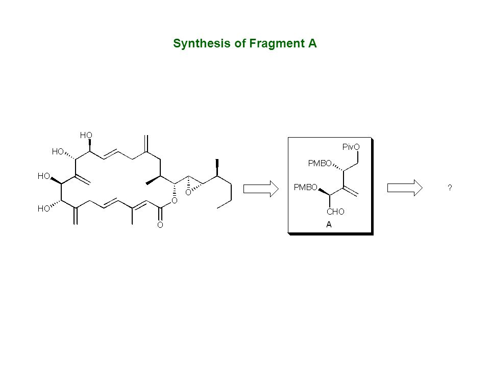Synthesis of Fragment A
