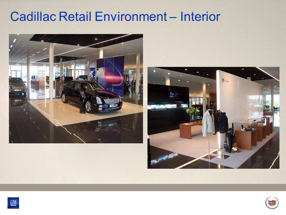 Cadillac Retail Environment – Interior
