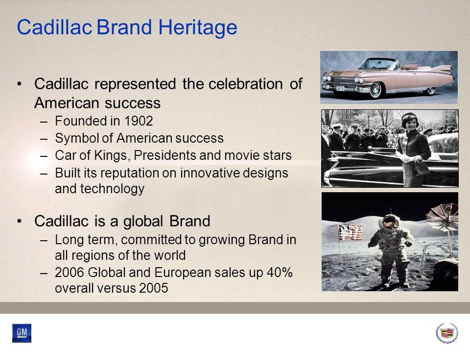 2006/2007 Cadillac Accomplishments U.S.