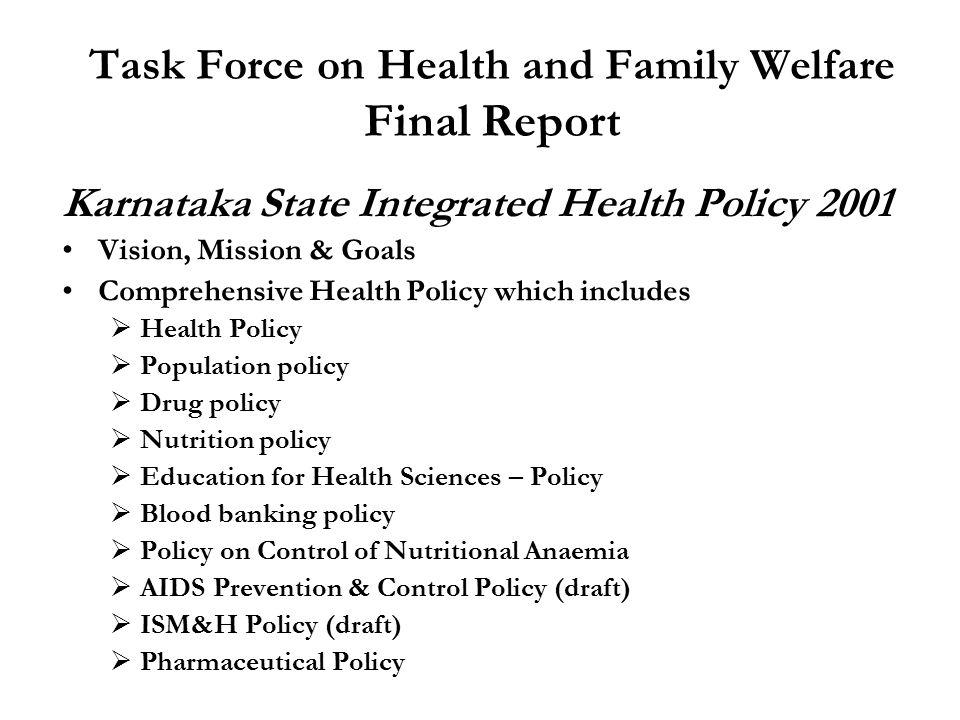 Good Governance Karnataka Health Department by Dr.H.