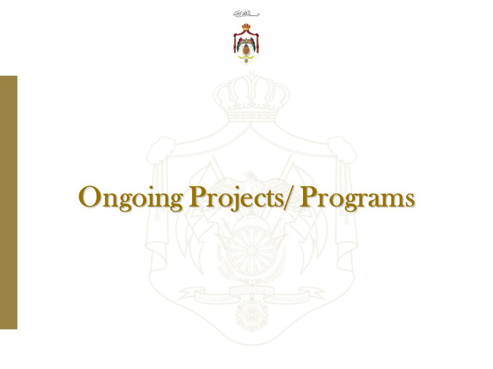 Ongoing Projects/ Programs