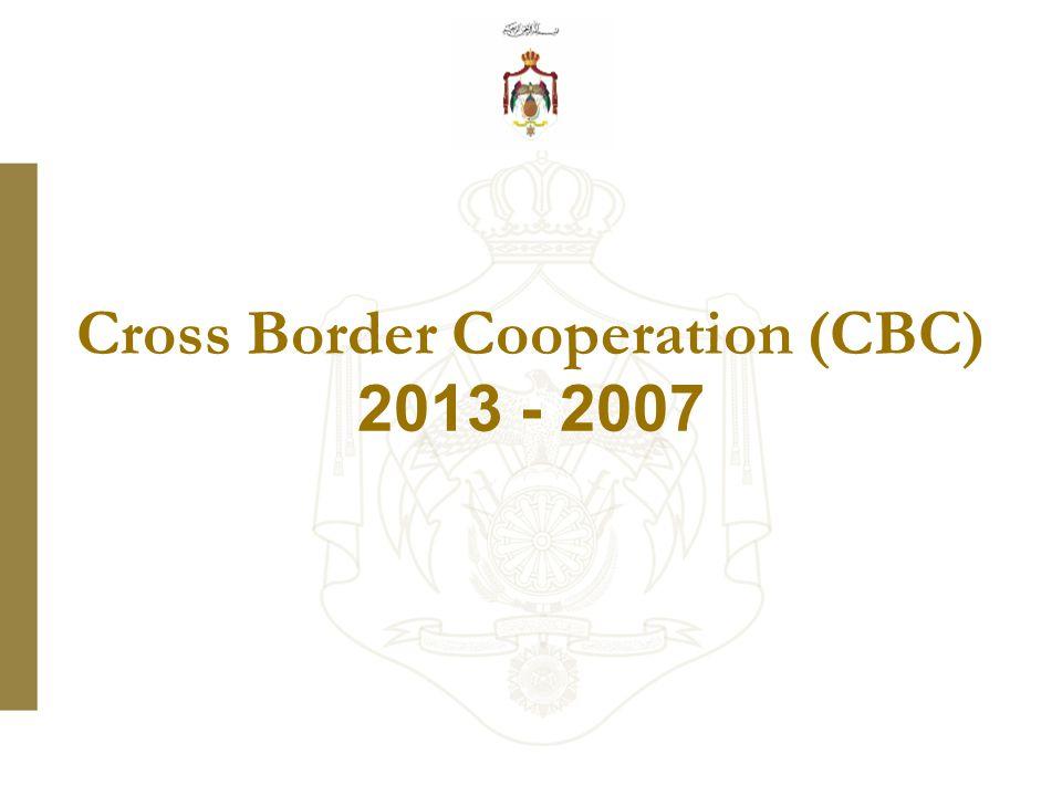 Cross Border Cooperation (CBC) 2007 - 2013