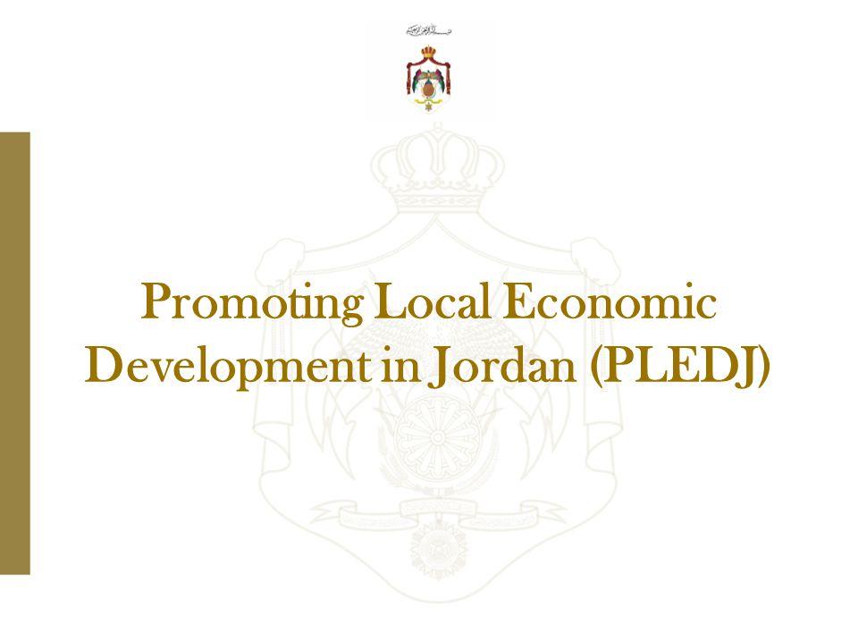 Promoting Local Economic Development in Jordan (PLEDJ)