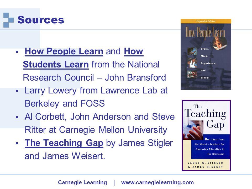 Carnegie Learning | www.carnegielearning.com Computer Curriculum