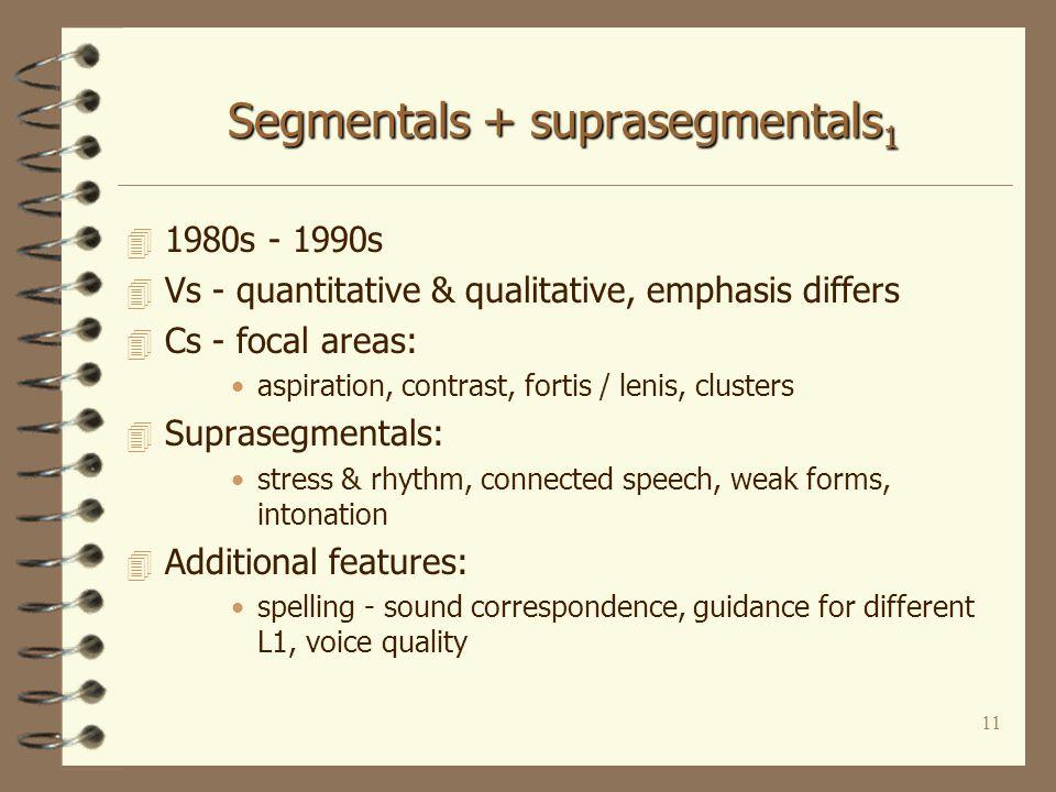 10 Focus on segmentals 2 4 Textbooks: 4 Baker,A. 1977.