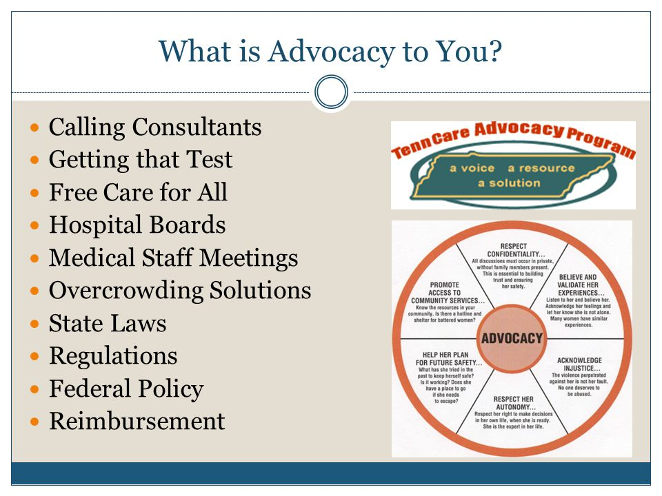 What is Advocacy to You.