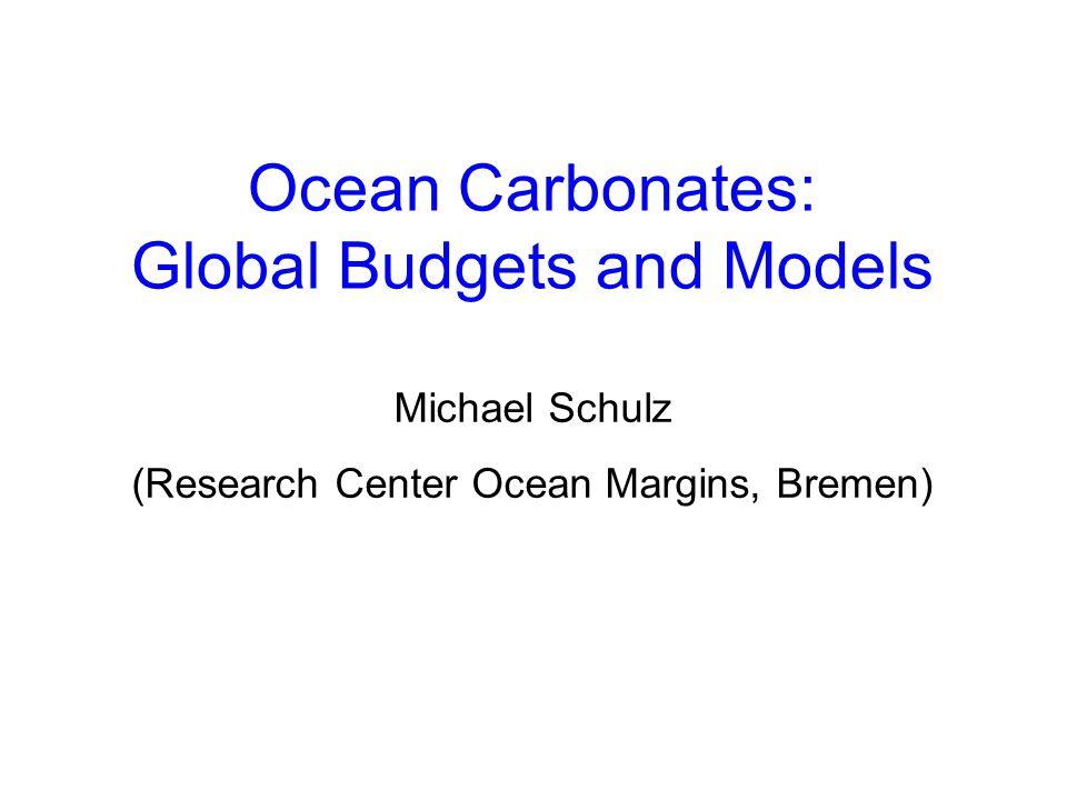 Case Study I: Glacial-Interglacial Variations in Pacific Lysocline Depth Farrell and Prell (1989, Paleoc.))