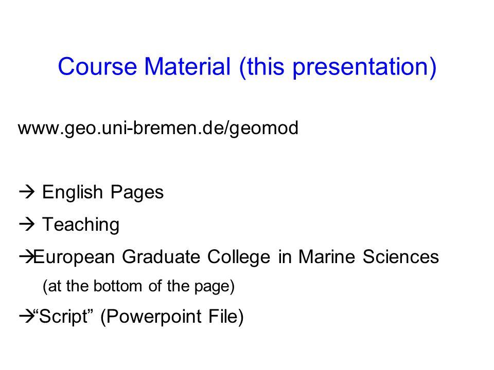 Basic Literature Iglesias-Rodriguez et al., 2002: Progress made in study of ocean s calcium carbonate budget.