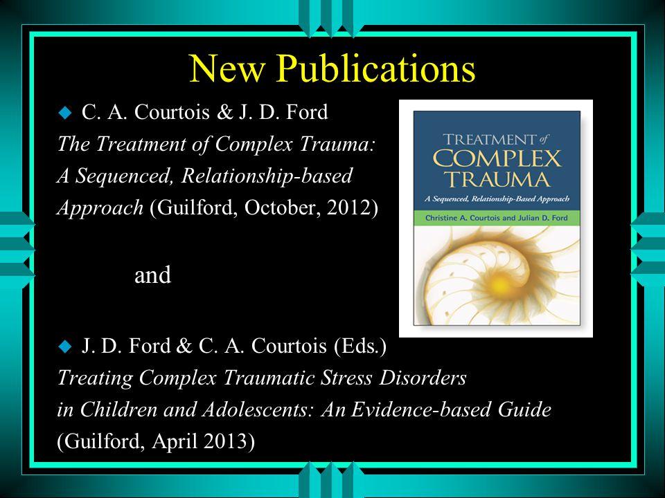 New Publications u C. A. Courtois & J. D.