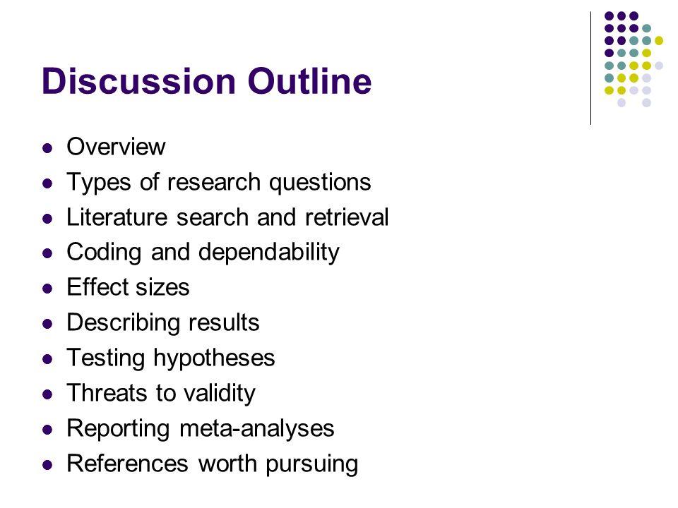 II.Coding the study: A.Publication Characteristics 1.