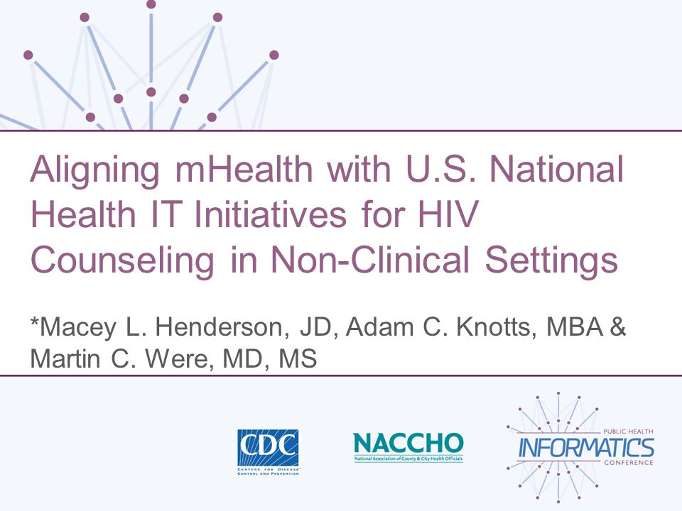 Aligning mHealth with U.S.