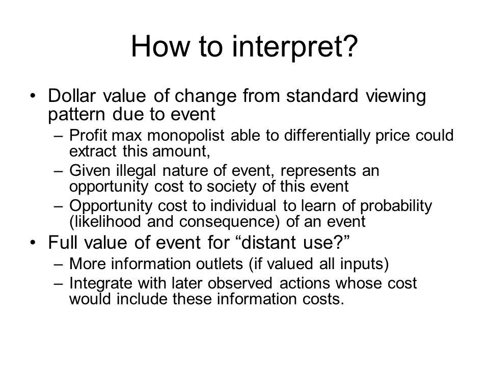 How to interpret.
