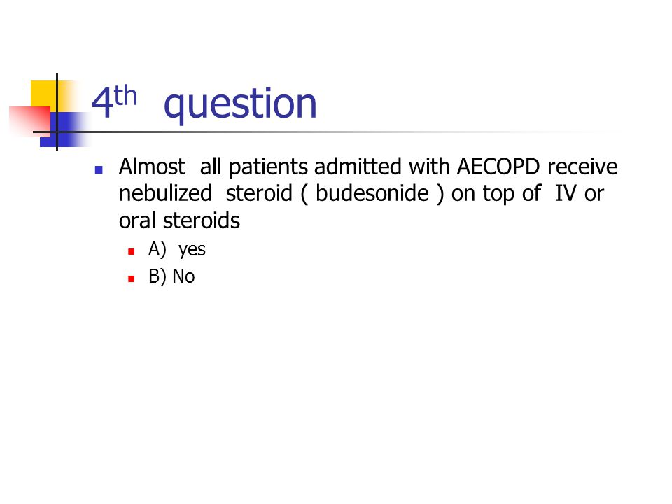 A high FiO 2 is not required to correct the hypoxemia associated with most acute exacerbations of COPD.
