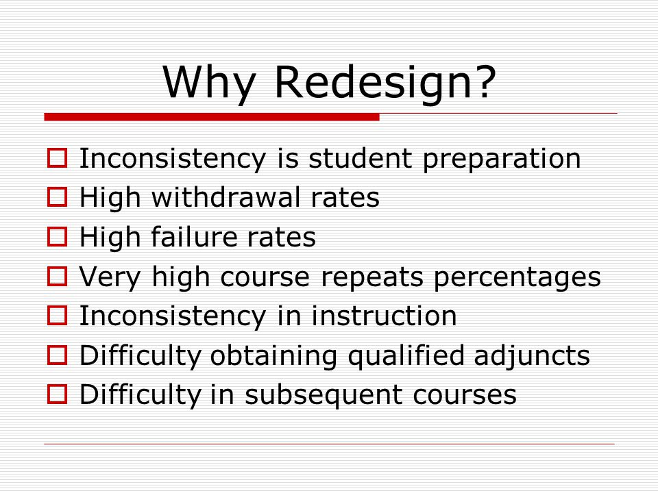 What is Redesign.