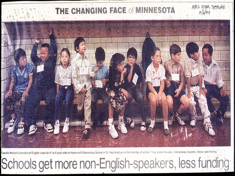 Minnesota: Dynamic Growth Seen in State's Ethnic Populations Minnesota is one of the least racially diverse states in the U.S.