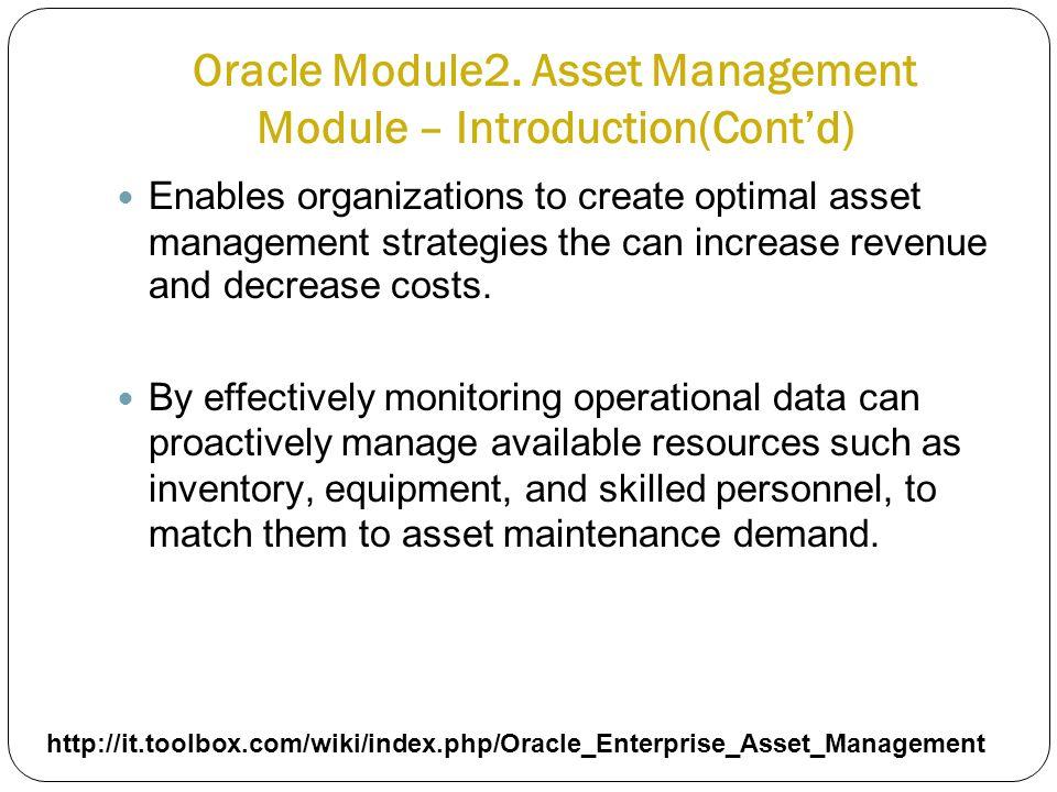 Oracle Module2.