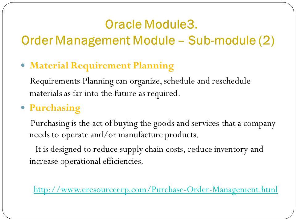 Oracle Module3.