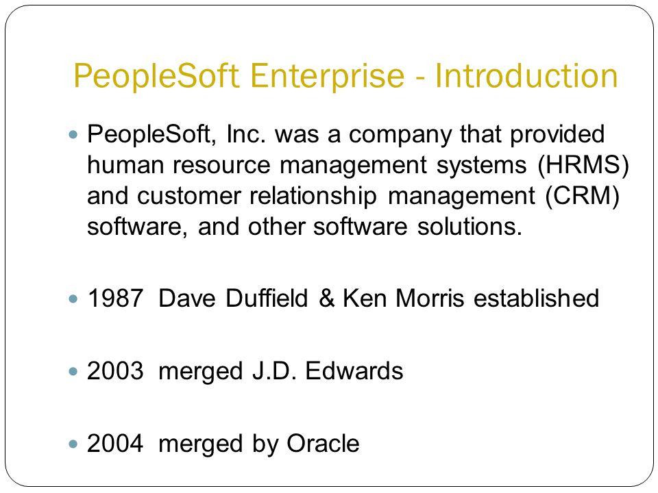 PeopleSoft, Inc.