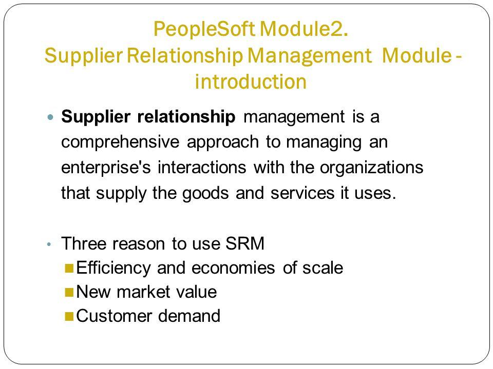 PeopleSoft Module2.