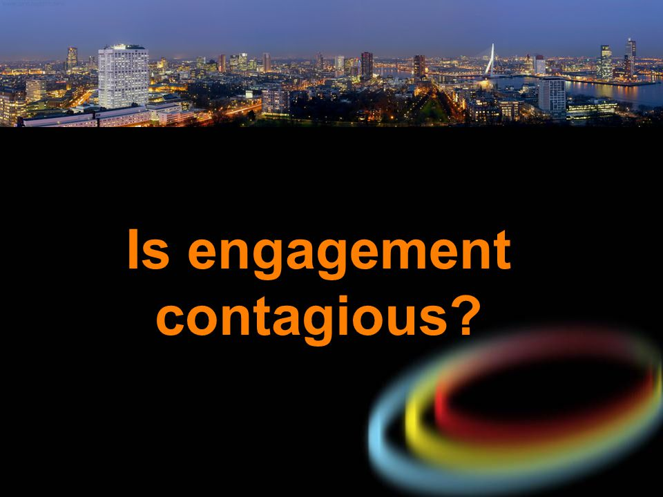Is engagement contagious?