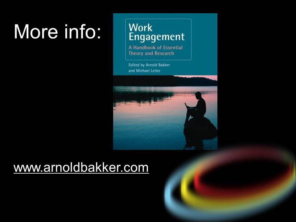 www.arnoldbakker.com More info: